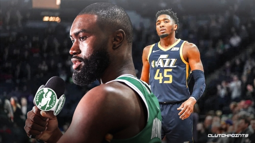 Jaylen Brown pokes fun at Donovan Mitchell while discussing mental health