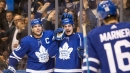 Too much of a dropoff on Leafs roster when 'big line' is together