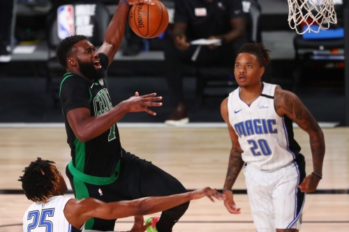Jaylen Brown's performance goes deeper than his double-double