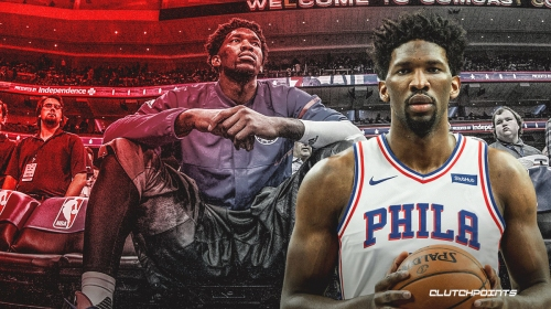 REPORT: Joel Embiid's injury may not be that serious