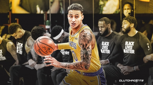 Kyle Kuzma added to Lakers' starting lineup vs. Nuggets