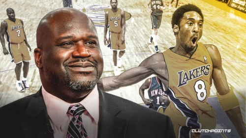 Shaquille O'Neal reveals Kobe Bryant shine he built in his home