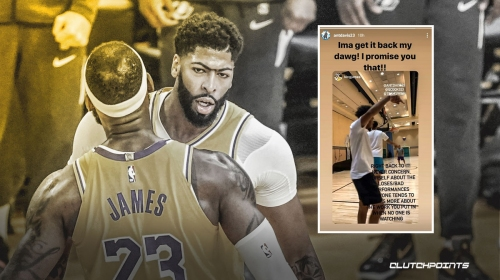 Lakers' Anthony Davis makes big promise to LeBron James as playoffs near