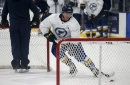 Blues notebook: Dunn is mum on his absence from practice