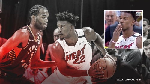 Heat troll TJ Warren, Pacers with savage Jimmy Butler pic