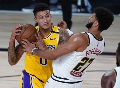 Recap: Lakers Offense Improves, Kyle Kuzma Hits Game-Winner Against Nuggets
