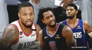 Blazers star Damian Lillard explains why he had to fire back at Paul George, Patrick Beverley