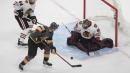 Lehner, Golden Knights shut down Blackhawks in Game 1