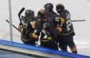Golden Knights 4, Blackhawks 1: Vegas takes 1-0 lead behind dominant performance
