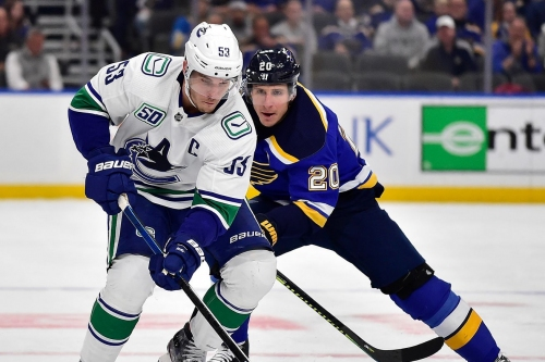 Canucks at Blues Game One Preview