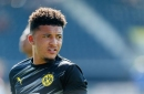 Jadon Sancho breaks silence amid Man United transfer interest