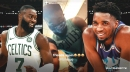 Donovan Mitchell, Jaylen Brown are 'friends again' after Celtics swingman poked fun at Jazz star