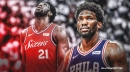Sixers' Joel Embiid suffers new setback, leaves game vs. Raptors with hand injury