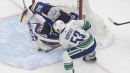 Bo Horvat scores twice as Canucks beat Blues in Game 1