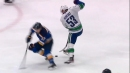 Bo Horvat goes end-to-end, dangles Blues' defence for incredible goal