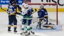 Bo Horvat scores OT winner as Canucks take 2-0 series lead over Blues