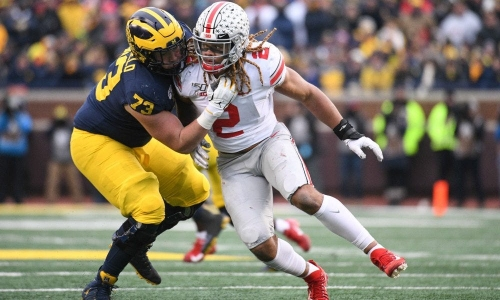 Explaining Michigan football OT Jalen Mayfield's 'hard decision' to enter 2021 NFL draft