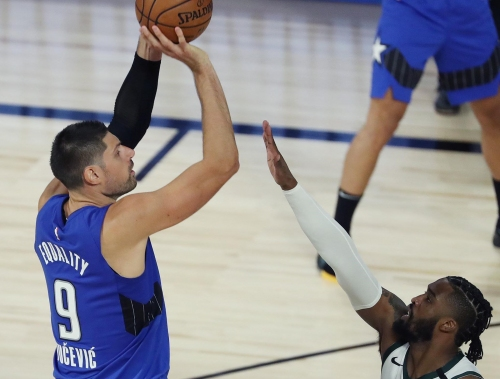 Nikola Vucevic playing his best basketball when Magic need it most