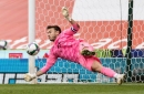 Blackpool played Stoke City off the park, says keeper