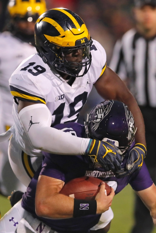 Michigan football's Kwity Paye: 'We don't know what's going on yet'