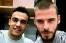 David de Gea sends Man United fans wild with Sergio Reguilon post