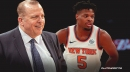 Knicks coach Tom Thibodeau was wild about Dennis Smith Jr. prior to 2017 draft