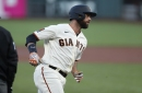 The Deets: We're finally seeing the real Brandon Belt