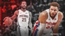 Pistons star Blake Griffin speaks out on his admiration for Derrick Rose