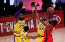 Lakers rookie Talen Horton-Tucker makes surprise playoff debut