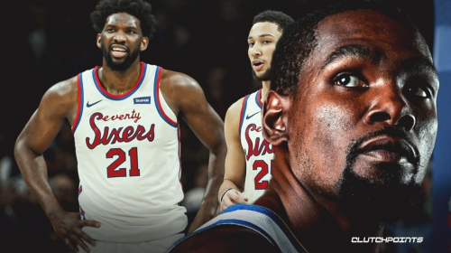 Kevin Durant blames Sixers for Joel Embiid, Ben Simmons' struggles
