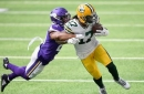 Davante Adams' 14 catches ties Packers' single-game record as Packers dominate Vikings, 43-34