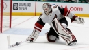 Coyotes sign goalie Adin Hill to one-year, one-way extension