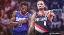 Blazers' Damian Lillard clowns Patrick Beverley after Clippers blow 3-1 series lead vs. Nuggets