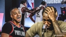 Blazers' CJ McCollum unleashes all-out troll job on Clippers, Patrick Beverley after blowing 3-1 series lead