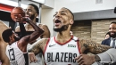 Blazers' Damian Lillard brings back Paul George's 'bad shot' quote after awful miss vs. Nuggets in G7