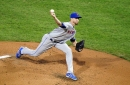 Jacob deGrom struggles, exits Mets game with apparent injury