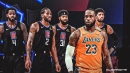 LeBron James reacts to not facing Kawhi Leonard, Clippers