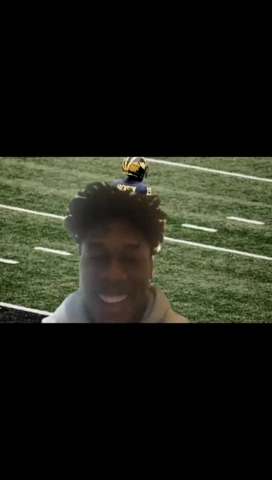 Video: Michigan's Giles Jackson relives learning Big Ten football is returning