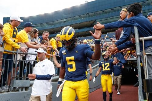 Michigan football's Joe Milton era ready for takeoff: 'He's the alpha male'
