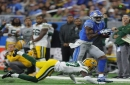 Detroit Lions rule out three starters for Sunday's game vs. Green Bay Packers