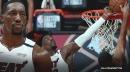 Heat's Bam Adebayo reveals what happened to his fingers on game-saving block of Jayson Tatum