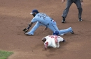 Jays lose first game of double-header