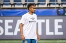 Sounders honor Manny Ellis with warm-up jerseys and banner