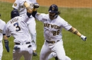 Brewers power their way back to beat Royals 9-5