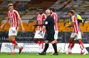Portsmouth 'still interested' in Stoke defender as boss reviews work in progress