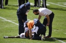 Broncos receiver Courtland Sutton out for season with knee injury, source says