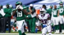 Jets' Breshad Perriman, Connor McGovern week-to-week after getting hurt in loss to 49ers