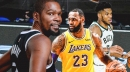 Kevin Durant reacts to LeBron James-Giannis Antetokounmpo MVP results