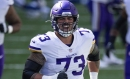 Vikings guard Dru Samia didn't feel out of place in first start, even if it looked that way