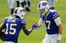 Colin Cowherd & Jason McIntyre are on opposite ends of the Bills (-3) vs. Rams matchup   TALK THE LINE